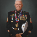 John Cole Korean War Vet 18x24 Oil on Canvas SOLD