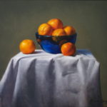 Orange and Blue 16x20 Oil on Canvas