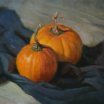 Pumpkin Harvest 11x14 Oil on Canvas