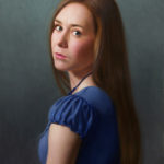 Rachelle-Muse 13x20 Oil on Panel